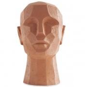Escultura Cabeça em Poliresina MART 12778