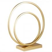 Escultura Decorativa ARCO em Metal Dourado MART 13361