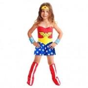 Fantasia Infantil Mulher Maravilha P Sulamericana 22060000002
