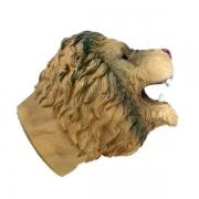Fantoche Cabeça de Animais Selvagens Leao TOYNG 41953