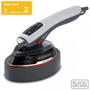 Ferro a Vapor BLACK Decker 2 em 1 Duo Steam FV1000 1000W