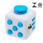 Fidget Cube Cubo ANTI STRESS AZUL/BRANCO Candide 2602