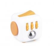 Fidget Cube Cubo ANTI STRESS LARANJA/BRANCO Candide 2602