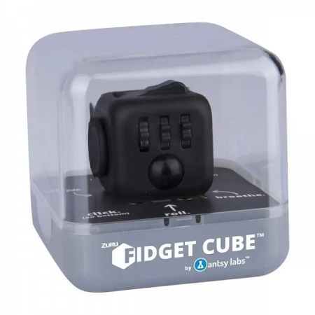 Fidget Cube Cubo ANTI STRESS Preto Candide 2602