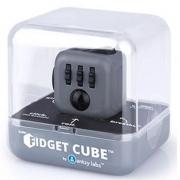 Fidget Cube Cubo ANTI STRESS PRETO/CINZA Candide 2602