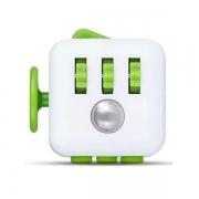Fidget Cube Cubo ANTI STRESS VERDE/BRANCO Candide 2602