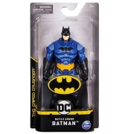 Figura Articulada 14 CM DC Comics Batman ARMOR AZUL SUNNY 2187