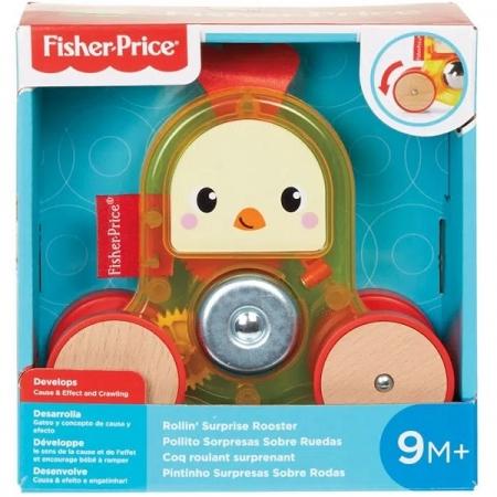 Fisher Price Bichinho Surpresa Sobre Rodas Pintinho GML83