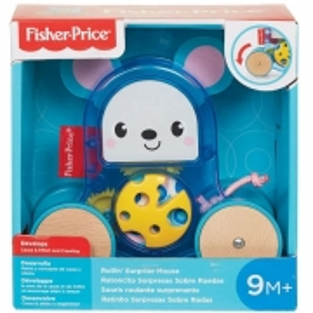 Fisher Price Bichinho Surpresa Sobre Rodas Ratinho GML83