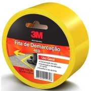 Fita para Demarcaçao de Solo Amarela 50MM X 30M SCOTCH 3M