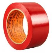 Fita para Demarcaçao de Solo Industrial Vermelha 50MM X 30M 471 3M