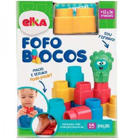 Fofo Blocos 15 Peças ELKA 1010