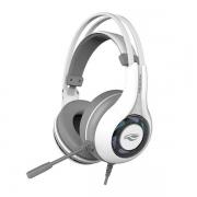 Fone com Microfone C3 TECH Gamer USB 7.1 Heron II PH-G701WHV2 Branco