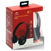 Fone com Microfone Dobravel PH-100RD Vermelho C3 TECH