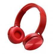 Fone de Ouvido com Microfone Dobravel PH-110RD Vermelho C3 TECH