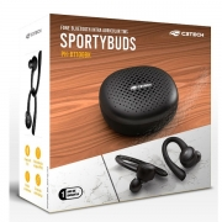 Fone de Ouvido EP-TWS-100BK Sportybuds BT 5 TWS C3 TECH