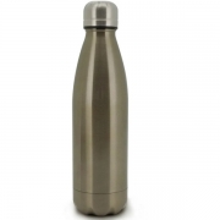 Garrafa Termica Parede Dupla INOX Bronze 500ML Mimo STYLE AJ20040 7135