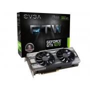 Geforce EVGA GTX Entusiasta Nvidia 08G-P4-6276-KR  GTX 1070 FTW 8GB DDR5 256BIT 8000MHZ DVI HDMI DP