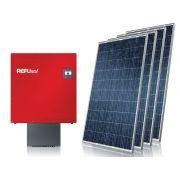 Gerador de Energia Solar S/ Estrutura Centrium ENERGY GEF-37620RS0S 37,62 KWP Trifasico 380V Painel 330W STRING BOX