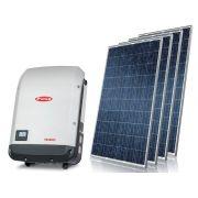 Gerador de Energia Solar S/ Estrutura Centrium ENERGY GEF-4620FP0S 4,62 KWP Monofasico 220V Painel 330W STRING BOX