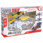 Helicoptero Drone Comanche Branco com Sensor de Aproximacao WELL KIDS