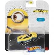 Hot Wheels Minions Carro Personagem CARL Mattel GMH74