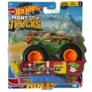 Hot Wheels Monster Burguer Delivery Mattel FYJ44