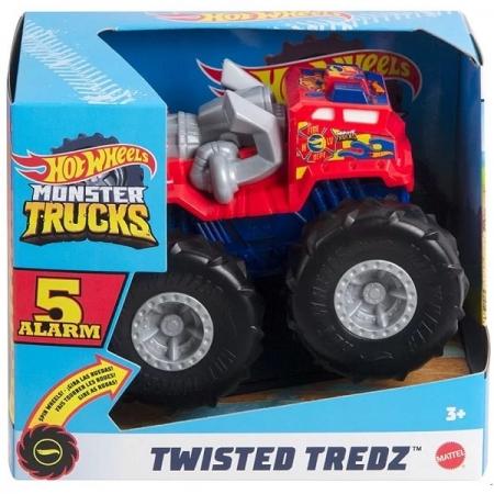 Hot Wheels Monster TRUCKS Twisted 5 ALARM Mattel GVK37