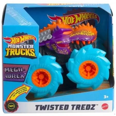 Hot Wheels Monster TRUCKS Twisted Mega WREX Mattel GVK37
