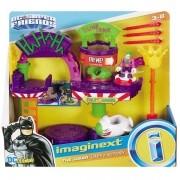 Imaginext Fisher Price Fabrica de Risada do Coringa Mattel GBL26