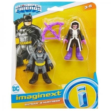 Imaginext Super Friends Batman e Huntress Mattel M5645 GKJ66
