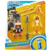 Imaginext Super Friends Mulher Maravilha e Cheetah Mattel M5645 GKJ68