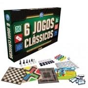 Jogo 6 Jogos Classicos Pais e Filhos 2759