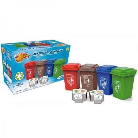 Jogo Aprendendo a Reciclar Xalingo 02987