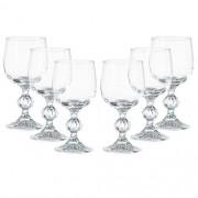 Conjunto de Taças para Vinho Branco 190ML Claudia 6PÇS Bohemia 57680