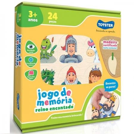 Jogo de Memoria Reino Encantado Toyster 2567