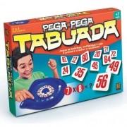 Jogo de Tabuleiro Pega Pega Tabuada GROW 1467