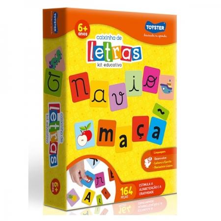 Jogo Educativo Caixinha de Letras Toyster 2369