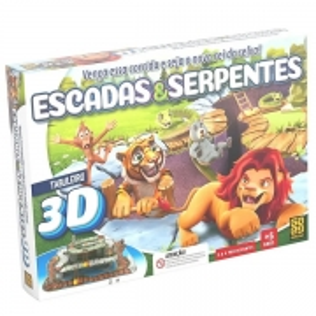 Jogo Escadas e Serpentes GROW 0394.3