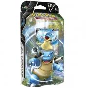 Jogo Pokemon DECK Batalha V Blastoise Copag 88842