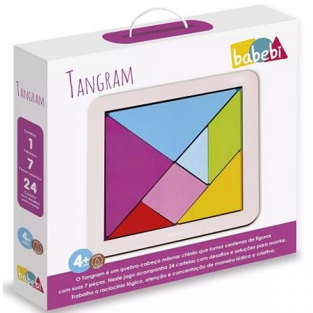 Jogo Tangram Babebi 6059