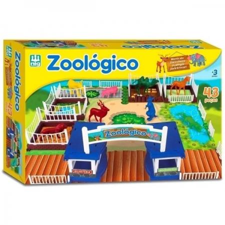 Jogo Zoologico NIG Brinquedos 0234