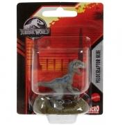 Jurassic WOLRD Mini Figura Velociraptor Blue Mattel GXB08