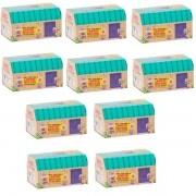 Kit com 10 Shopkins BOX Surpresa HAPPY Places DTC 4478
