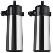Kit com 2 Garrafas Termica AIR POT INOX 1,8 L Invicta