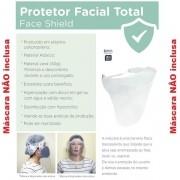 Kit com 3 Mascaras de Proteçao Facial Dello