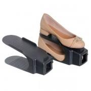 Kit com 6 Organizadores para Sapato Preto Ordene OR62520
