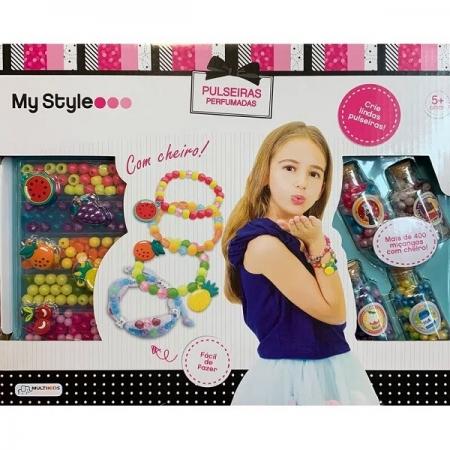 Kit de Pulseiras Perfumadas MY STYLE Multikids BR1119