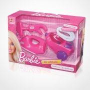 Kit de Utilidades Domesticas Barbie Aspirador de PO e Ferro de Passar Lider 2181