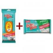 Kit Esfrebom Wipes Cozinha + Banheiro